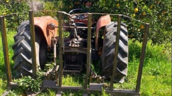 Le daba arranque a su tractor y no se percató que el mismo estaba en cambio