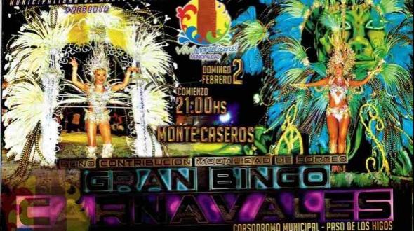 Dos ganadores en el séptimo sorteo mensual del gran bingo de carnavales