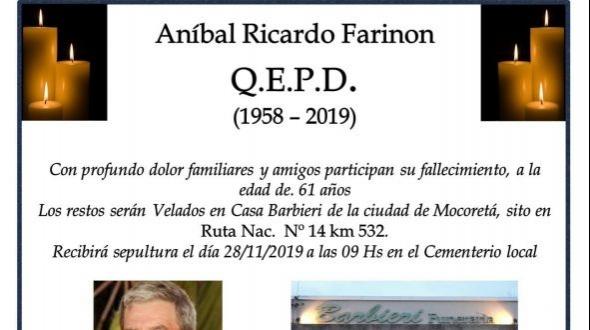 Aníbal Ricardo Farinón