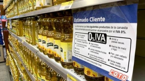Cuáles son los alimentos que suben 7% por la reimplantación del IVA