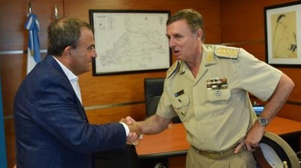 El Prefecto General Mario Rubén Farinón, oriundo de Mocoretá, fue designado al frente de la Prefectura Naval