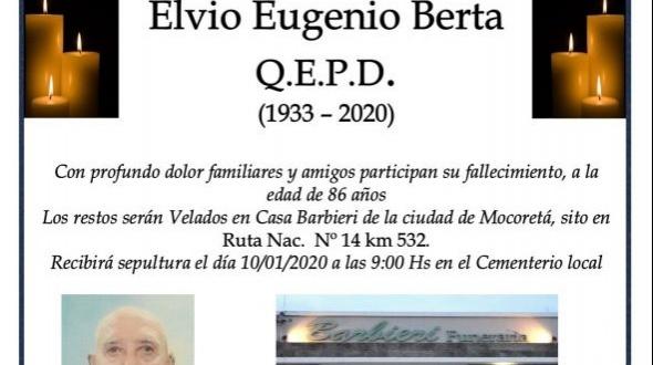 Elvio Eugenio Berta