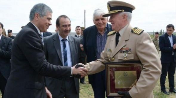Prefectura Naval: Osvaldo Daporta asumió como nuevo director de la Región Norte
