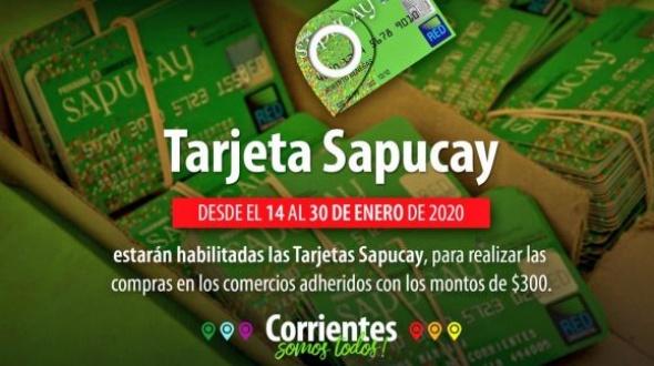 Se habilitaron las tarjetas Sapucay
