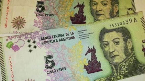 Un mes más de vida para el billete de 5 pesos