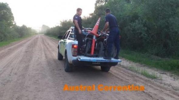 Continúan los operativos en Mocoretá: Secuestraron 3 motocicletas