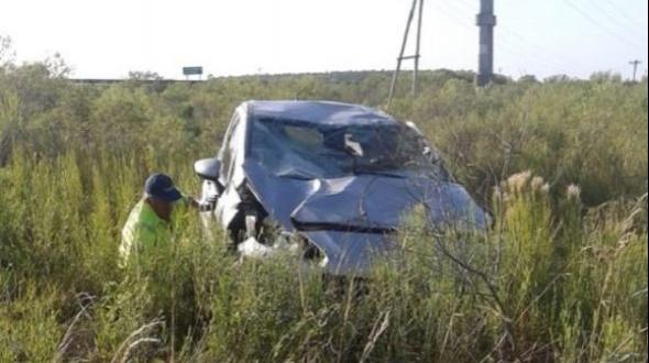 Despiste: Conductor de Monte Caseros con lesiones leves