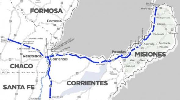 El Gobierno anunció la estatización de un corredor vial que atraviesa Corrientes