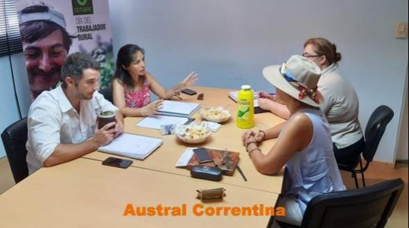 El RENATRE Corrientes coordinó acciones de capacitación en Buenas Prácticas Agrícolas Sustentables