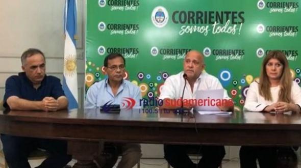 El Gobierno confirmó que hay dos casos sospechosos de coronavirus y 26 aislados en Corrientes