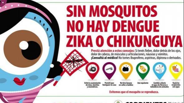 Desmintieron una muerte por dengue en Corrientes