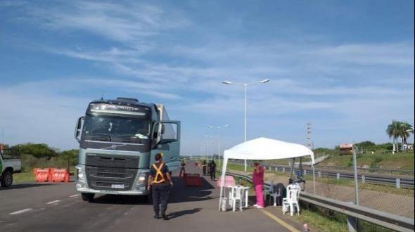 Corona virus: Camiones con cargas autorizadas a transitar en la provincia de Corrientes