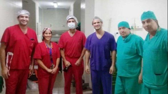 Se realizó un nuevo operativo de ablación multiorgánica en Paso de los Libres