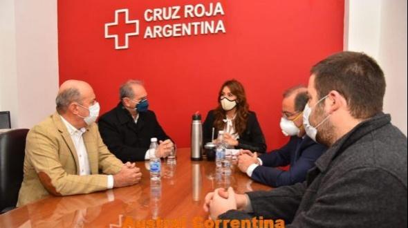 La Cruz Roja donó 250 termómetros digitales al gobierno provincial y al municipio de Corrientes