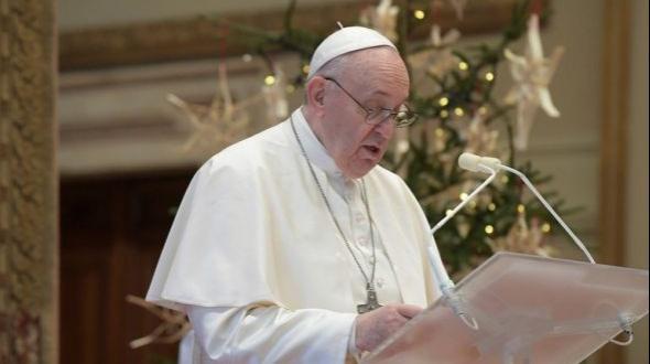 """En Navidad, el papa Francisco pidió """"vacunas para todos"""""""