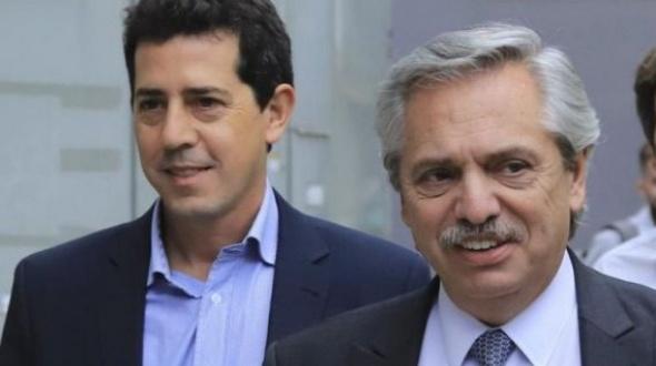 Ya está en Corrientes el ministro Wado de Pedro: Fue recibido por el gobernador Valdés