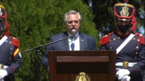 """Alberto Fernández en Corrientes: """"El coraje de unos pocos hacen posible los grandes cambios en la historia"""""""