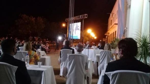 Apertura de sesiones ordinarias del Concejo Deliberante de Monte Caseros
