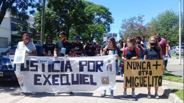 Suspenden marcha para pedir justicia por el caso Ezequiel Insfran