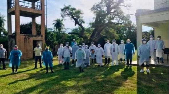 El Comité de Crisis viaja a Goya y Esquina para intentar controlar los brotes de casos