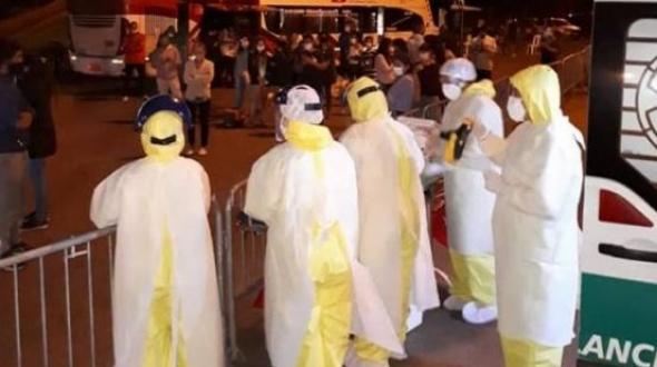 Hisoparon a las 50 personas varadas en Paso de los Libres y esperan resultados para que ingresen al país