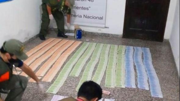 Corrientes: Llevaba más de 1 millón de pesos para apostar en carreras cuadreras
