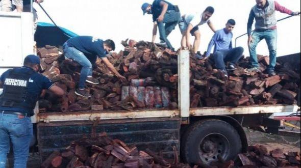 Demoran a un camión con más de 500 kilos de marihuana