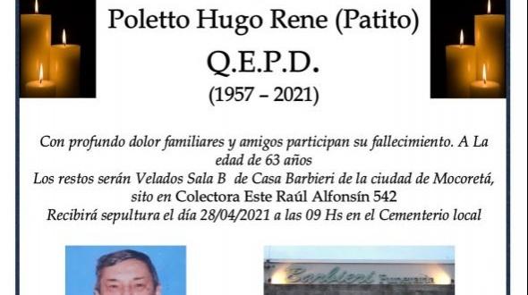 "Hugo René Poletto ""Patita"""