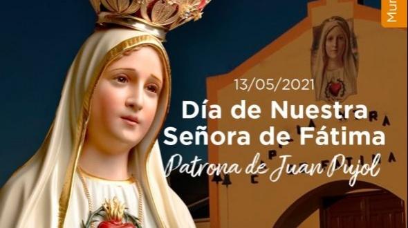 Día de nuestra señora de Fátima: Patrona de Juan Pujol