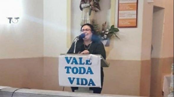 Pesar por el fallecimiento de la contadora Claudia Venencio