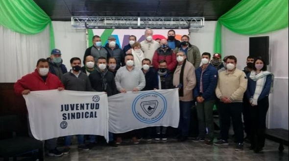 Sindicatos expresaron su apoyo a la fórmula Eco - Vamos Corrientes y conformaron una mesa de trabajo
