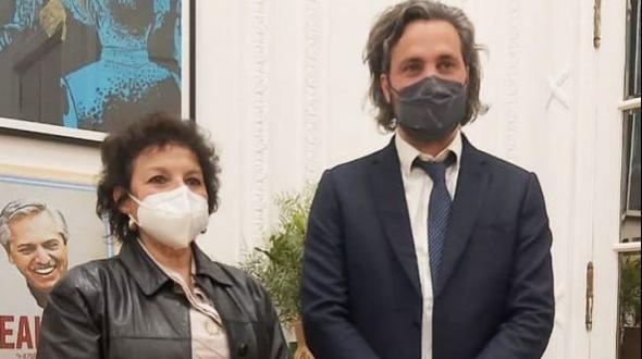 Apoyo de ministros nacionales a Graciela Castañeda