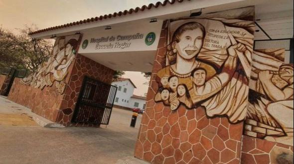 Murieron ocho personas en el Hospital de Campaña Hogar Escuela