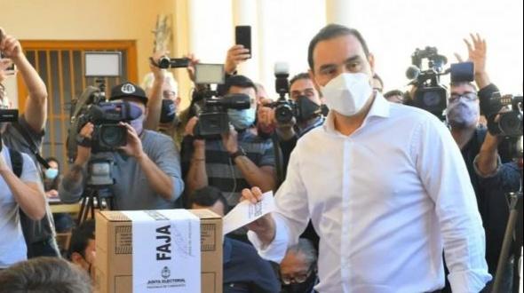 Votó Valdés: habló del protocolo sanitario y del diputado baleado