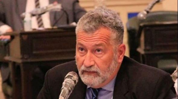 """Habló Miguel Arias en exclusiva y dijo """"es ridículo pensar que el disparo provino del público"""""""