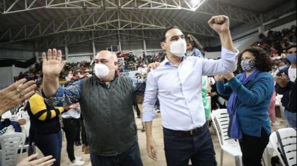 Gustavo Valdés ratificó acompañamiento a los dos candidatos de Eco Vamos Corrientes